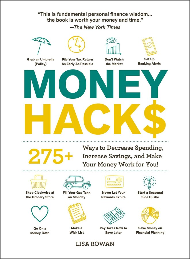 Money Hacks Book Cover